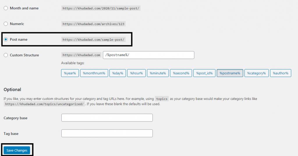 SEO Friendly URLs in WordPress