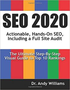 SEO 2020: Actionable, Hands-on SEO, Including a Full Site Audit